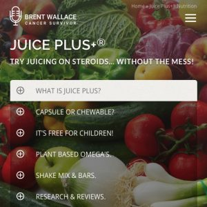 Juice Plus Whole Food Nutrition