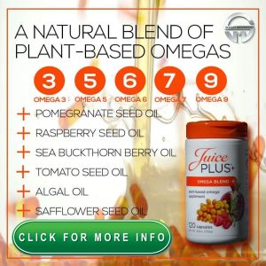 Juice Plus Omega Blend with Vegan Capsules